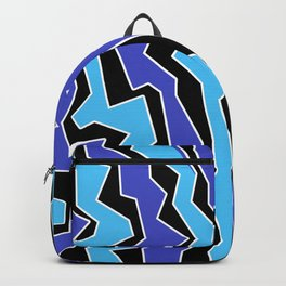 Vertical Blues Polynoise Backpack