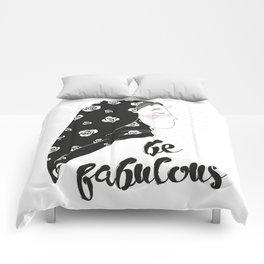 confident fatima / illustration Comforters