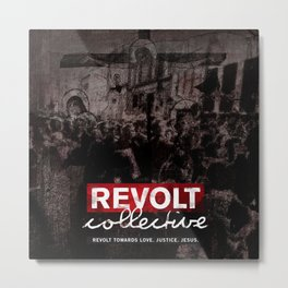 Revolt : Black Friday Metal Print