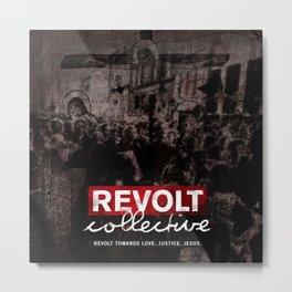 Revolt : Black Friday Metal Print