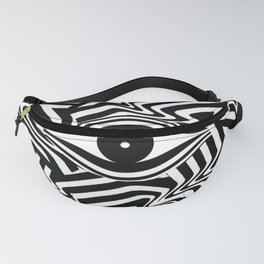 Striped Lines Eye Fanny Pack