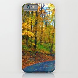 Autumn in Pennsylvania iPhone Case