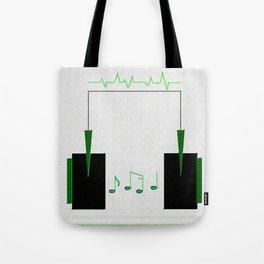 Life=Music Tote Bag