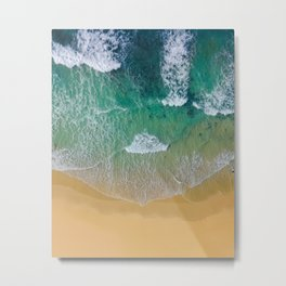 Ocean from the sky Metal Print