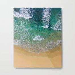 Ocean from the sky Metal Print