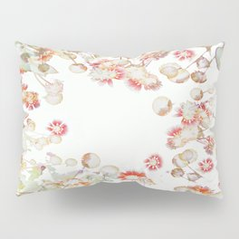 Ethereal Pastel Summer Garden Pillow Sham