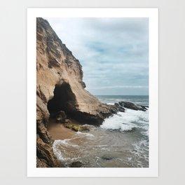 1000 Steps Beach Art Print