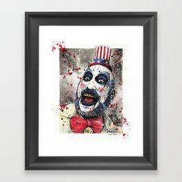 Captain Spaulding -The Devil's Rejects Framed Art Print