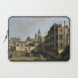 Bernardo Bellotto - Campo San Stin, Venice Laptop Sleeve