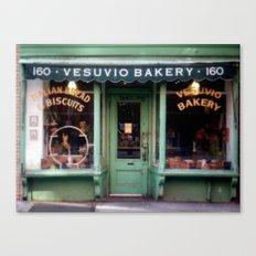Vesubio Bakery (in color) Canvas Print