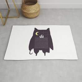 Pirate owl Rug