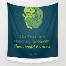 Don't lose time Wall Tapestry