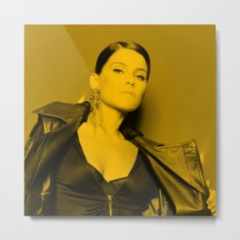 Nelly Furtado Metal Print