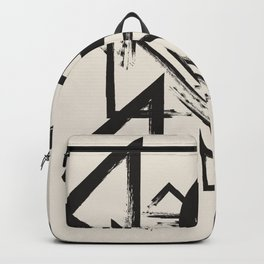abstract drawing Backpack