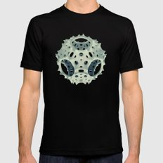Icosahedron Bloom X-LARGE Black Mens Fitted Tee