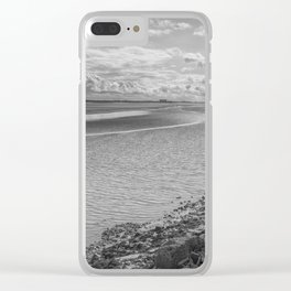 Incoming Tide Clear iPhone Case