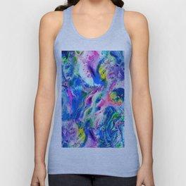 Bathbomb, fluid art, psychedelic art, trippy, psytrance, lsd, acid Unisex Tank Top