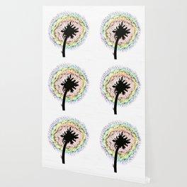 Dandelion rainbow seeds Wallpaper