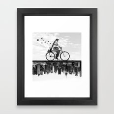 In Between Framed Art Print