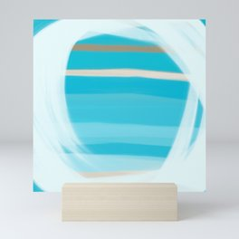 Blue Lagoon Mini Art Print