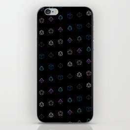 Dungeons and Dragons Aesthetic Dice iPhone Skin