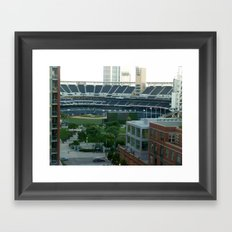 Petco Park Field Framed Art Print