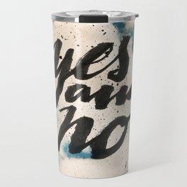Yes and No Travel Mug