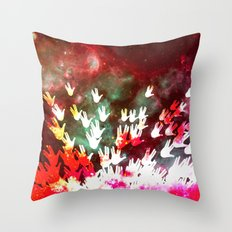 H.E.L.L.O. Throw Pillow