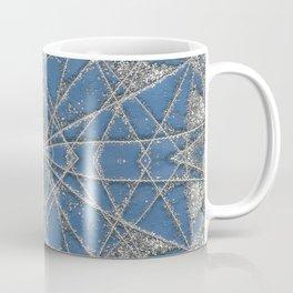 Snowflake Blue Coffee Mug