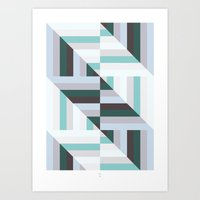 60s Art Prints featuring Maze | 60s by Wood + Ink