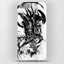 Intergalactic Evil iPhone Case