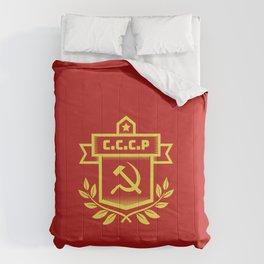 Communist Hammer Sickle Insignia Comforters