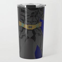 Bat man (The Dark Knight)(Vector Art) Travel Mug