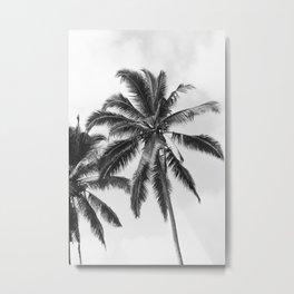 Bali Palm Metal Print