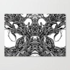 Subconscious Throne of Death  Canvas Print