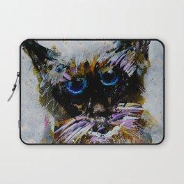 Old Cat Laptop Sleeve