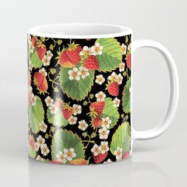 Strawberries Botanical Coffee Mug
