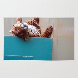 Reclining Jaguar Rug