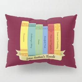 Jane Austen's Novels IV Pillow Sham