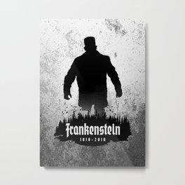 Frankenstein 1818-2018 - 200th Anniversary Metal Print