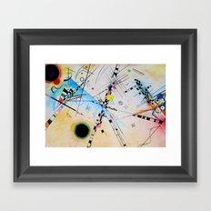 Kandinsky Reimagined Framed Art Print