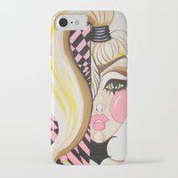blondie iPhone & iPod Cases featuring Blondie by Artist Fran Doll