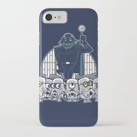 minions iPhone & iPod Cases featuring Stormtrooper Minions by Hugo Martin
