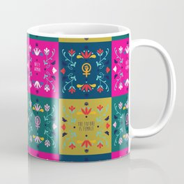 Feminist Quilt Coffee Mug