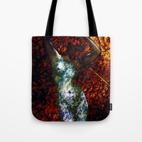 into the wild Tote Bags featuring Wild by Stephen Linhart