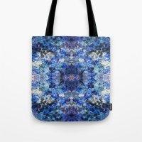 underwater Tote Bags featuring Underwater by Angela Fanton