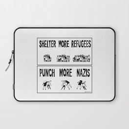 Shelter More Refugees Laptop Sleeve