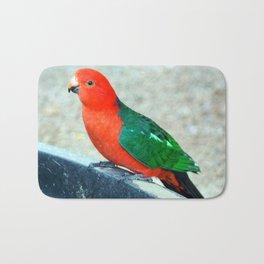 King Parrot Bath Mat