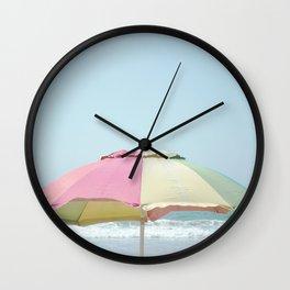 Just Beachy Wall Clock