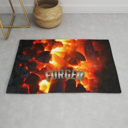 Forged by Fire Rug